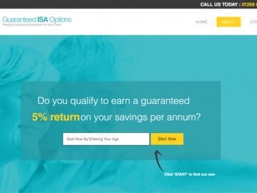 Guaranteed ISA Options
